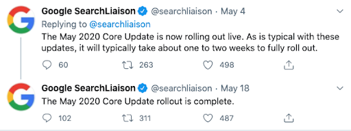 May4thupdate - Google tweets