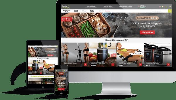 High Street TV Award-Winning Magento 2 Website