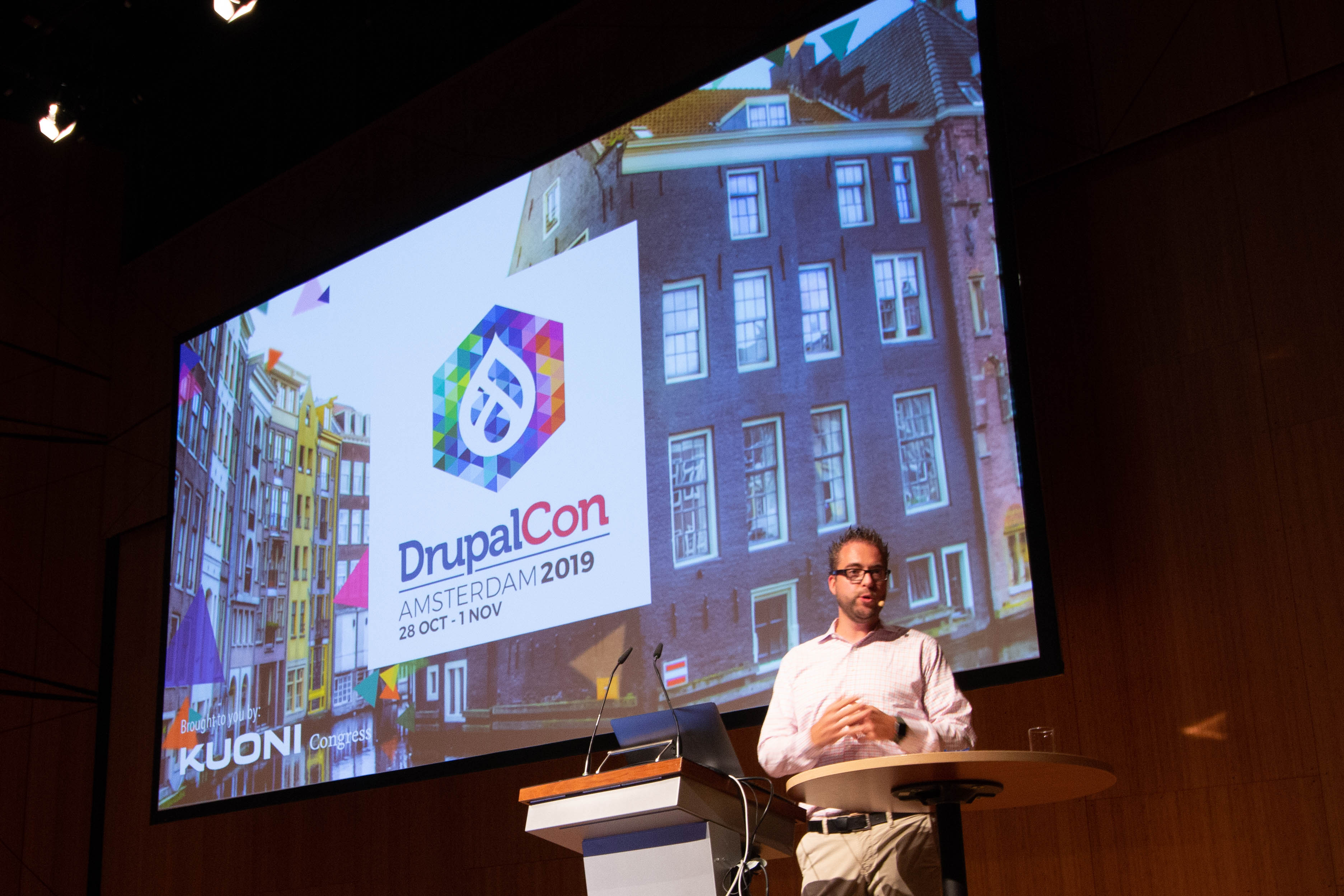 Driesnote Announces DrupalCon Amsterdam
