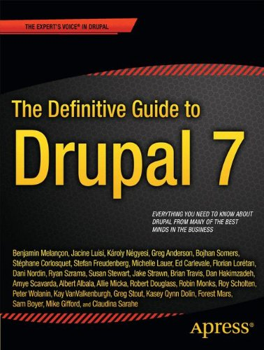 Definative Guide To Drupal 7