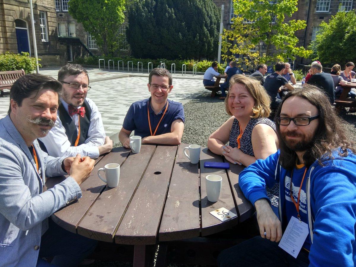 Lunchtime Sunshine at DrupalCamp Scotland