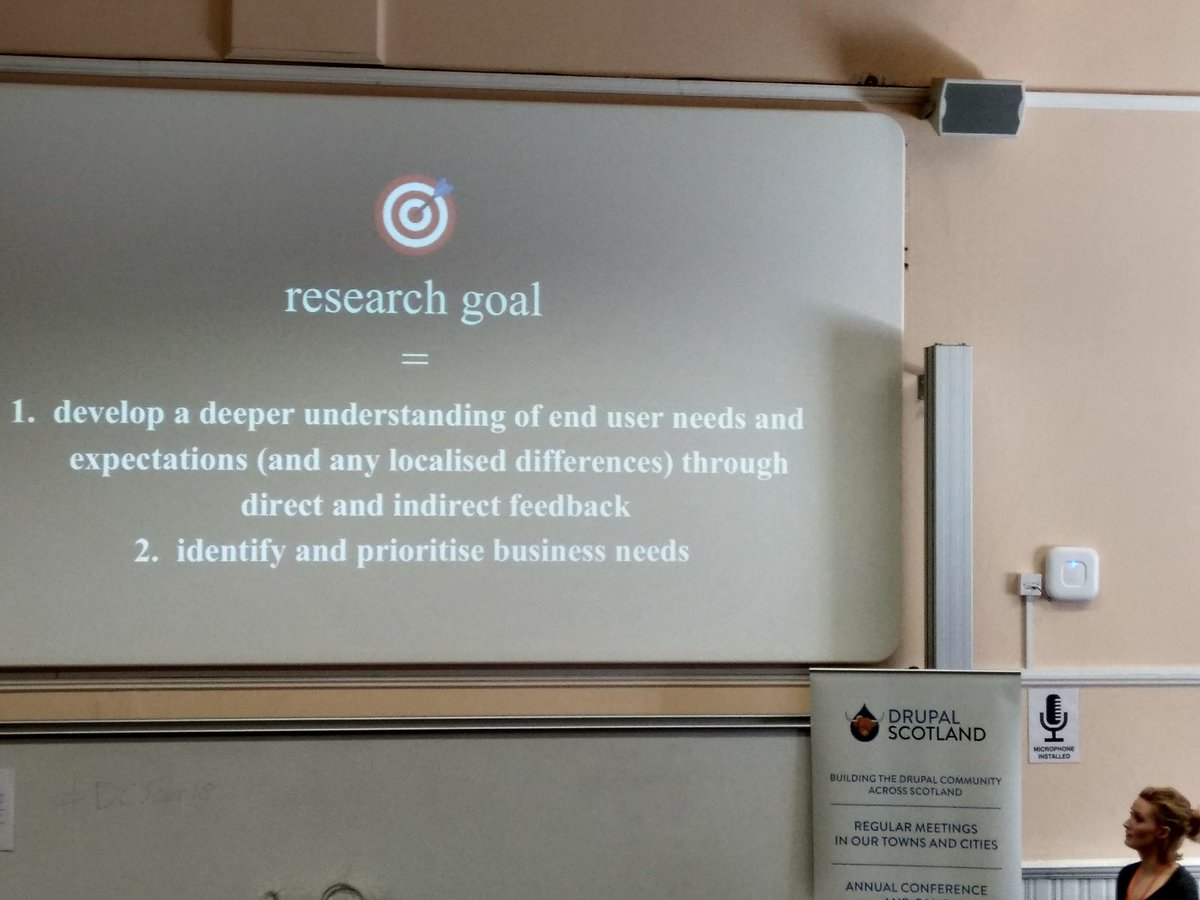 Defining Research Goals