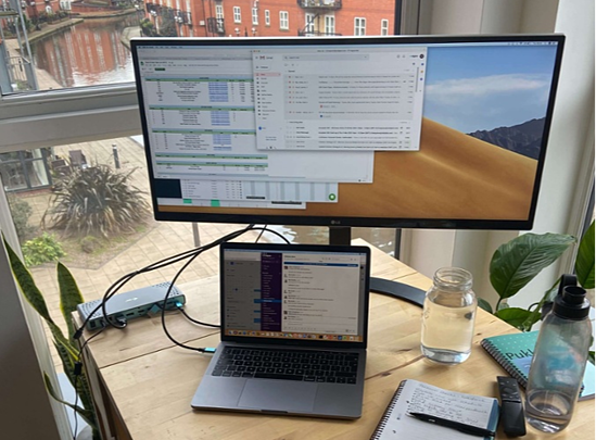 Home office with a view