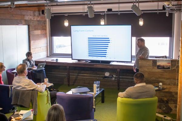 Content Marketing Training: prioritising long form content