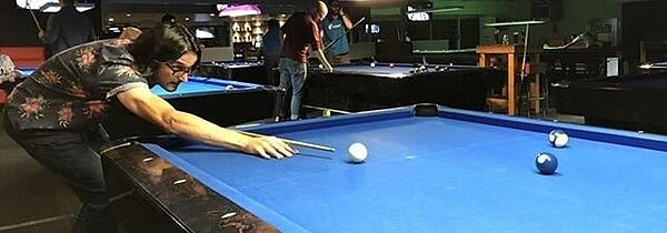 The Pool Champion: Rick Steckles