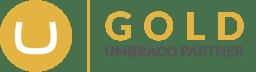 Umbraco Gold Partner logo transparent background