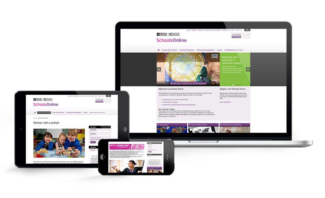 British Council Schools Online Website