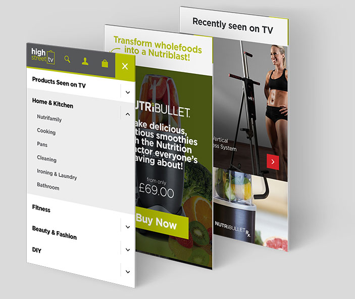 Mobile Website HSTV