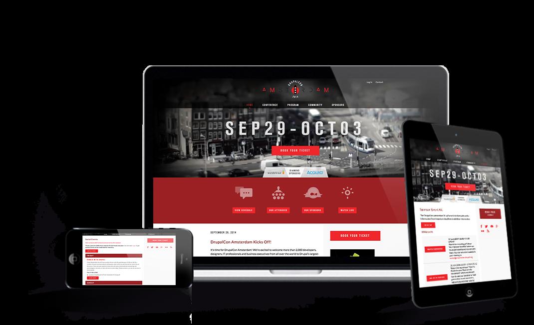 Drupalcon Amsterdam website