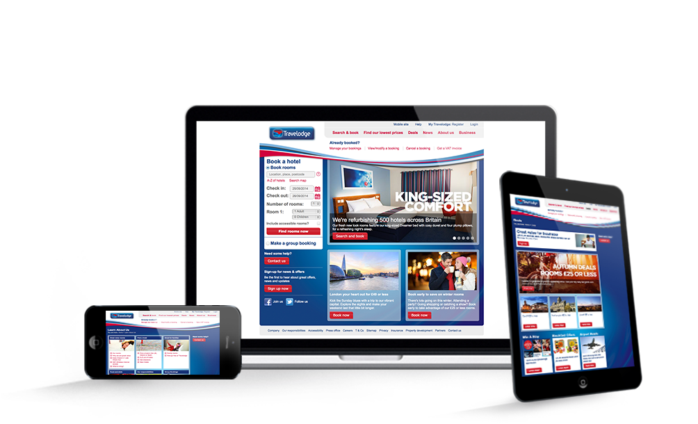 Travelodge website