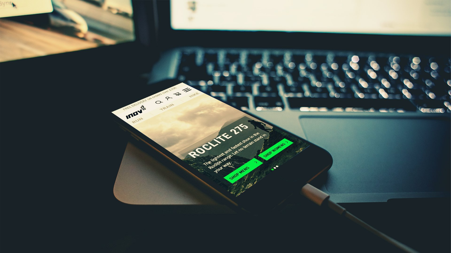 inov8 optimised mobile ux