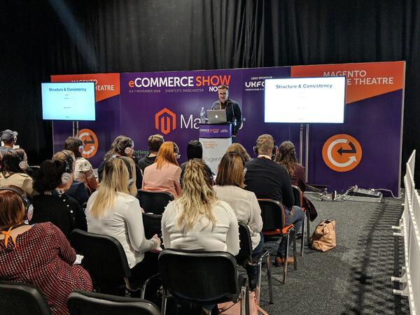 Ian Cassidy Speaking at the eCSN Magento Theatre
