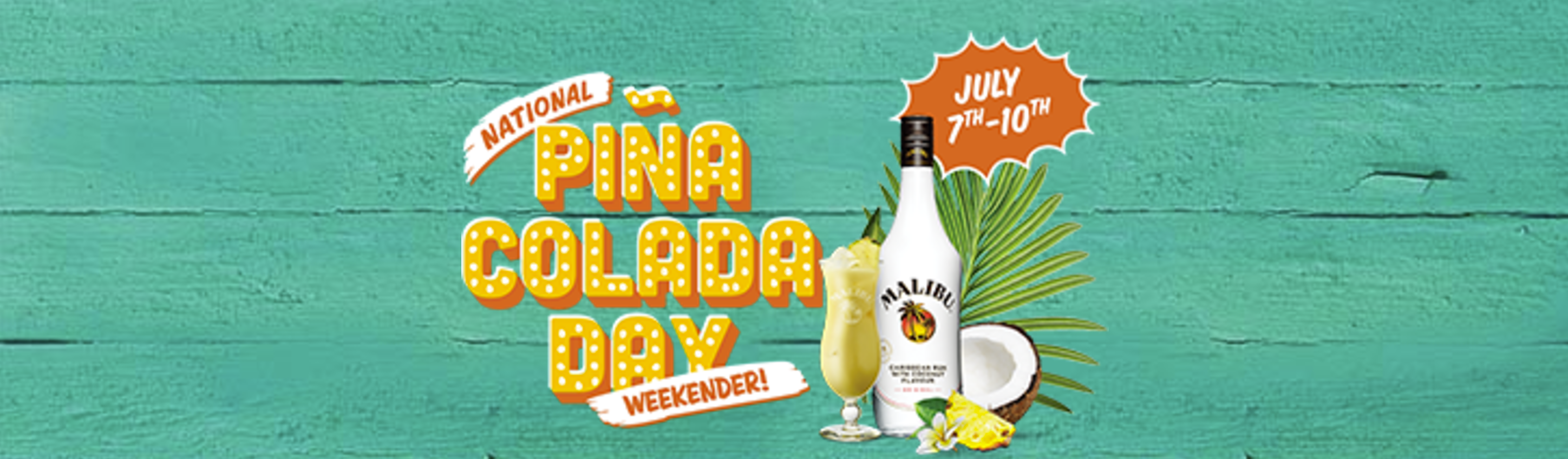 Do you like Piña Coladas? We sure do!