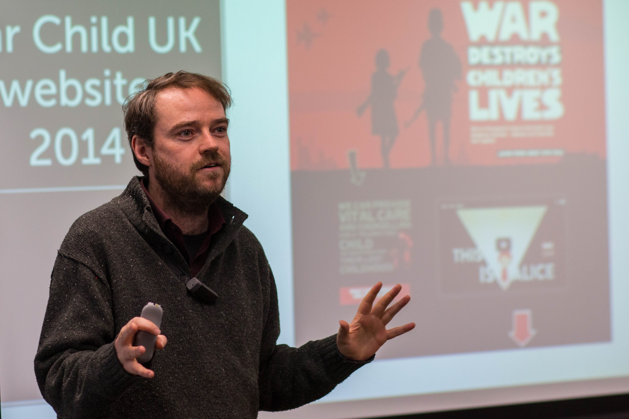 How Drupal helps WarChild to save lives