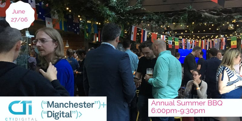 Come to Manchester Digital's Biggest Members Event