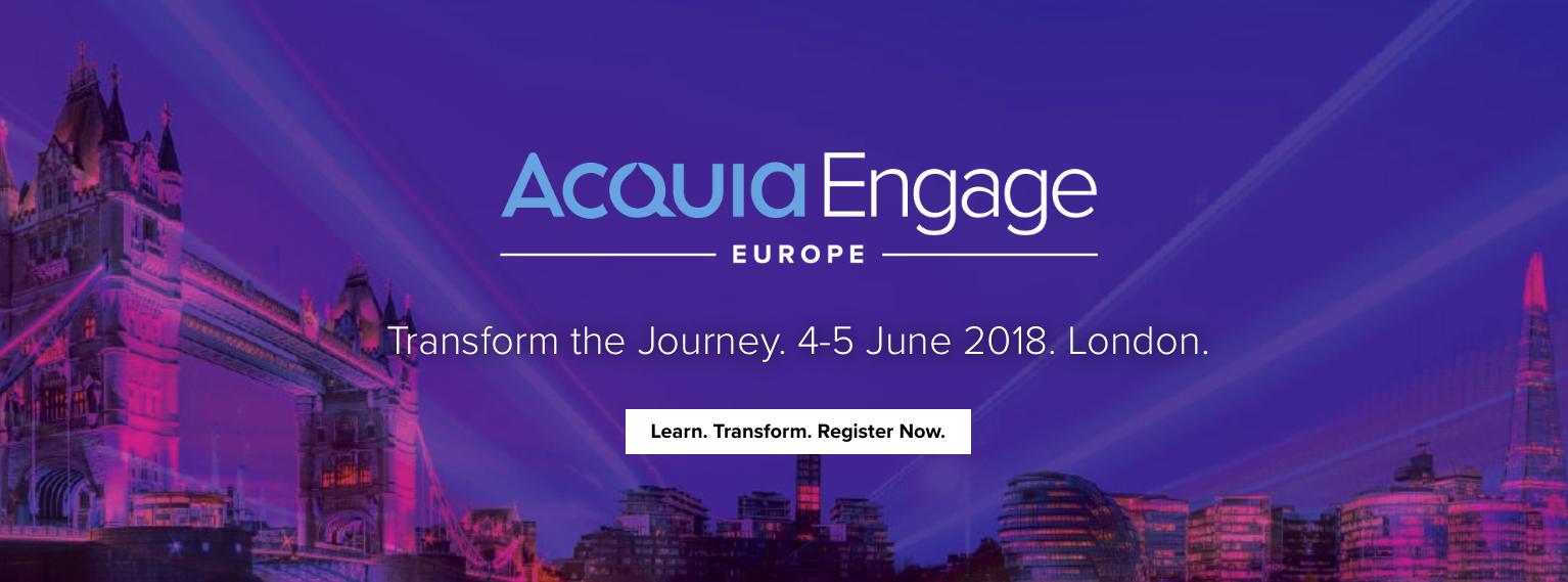 CTI Goes to Acquia Engage Europe 2018