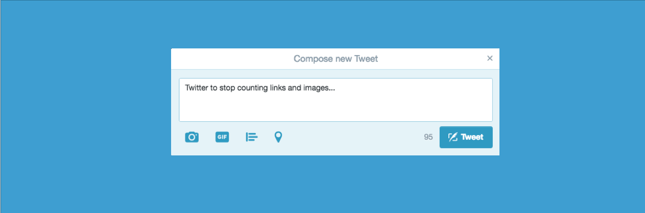 Twitter to stop counting links and images