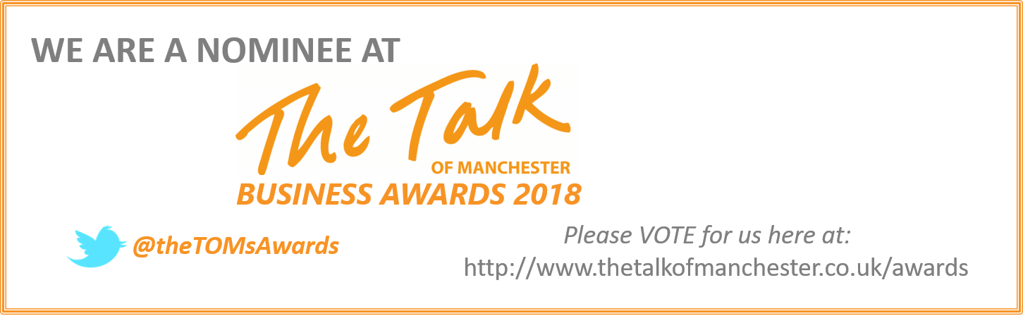Vote Now for the Talk of Manchester Awards