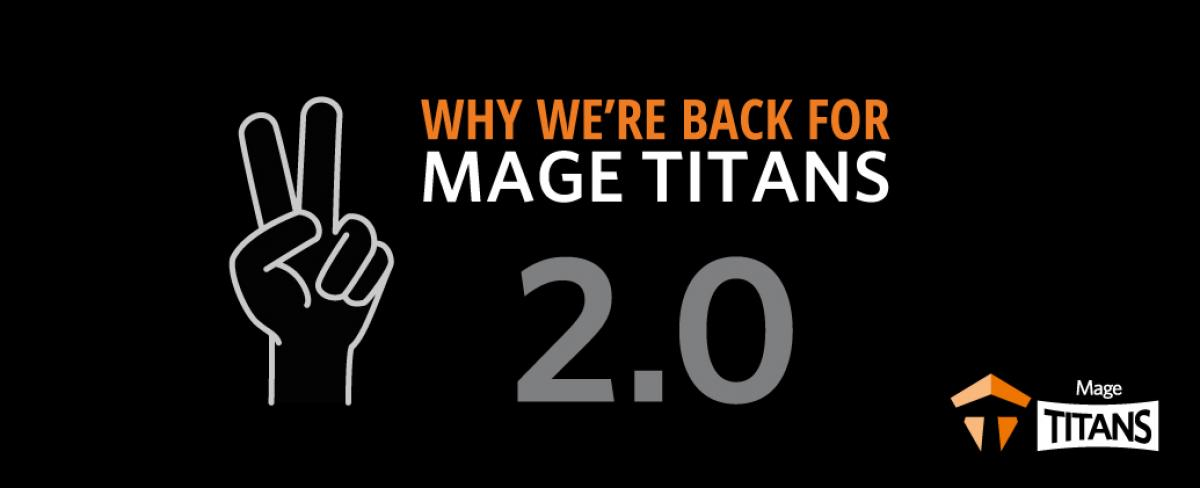 We're going to Mage Titans 2.0